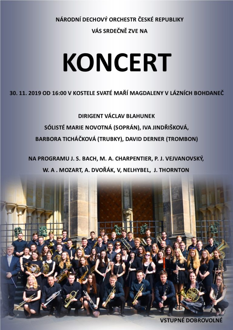 Koncert Lázně Bohdaneč